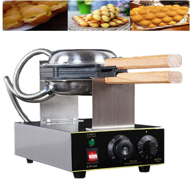 Harga 110 V 220 Fy 6 Electric Waffle Pan Mesin In Eggette Wafer