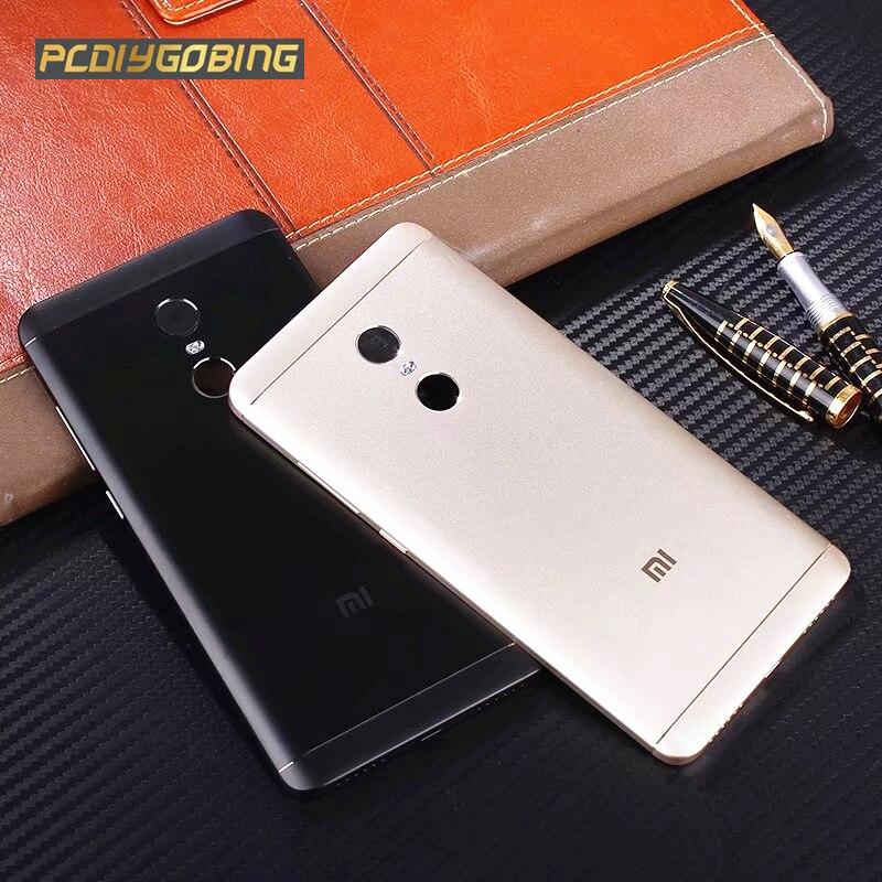 Officiel Retour Couvercle De La Batterie Pour Redmi Note 4X32 GB Note4 Global Version Originale Boîtier Métallique Pour Xiaomi Redmi Note4X Pro 64 GB