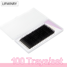 100cases   All size, High quality eyelash extension mink,individual eyelash extension,natural eyelashes,false eyelashes