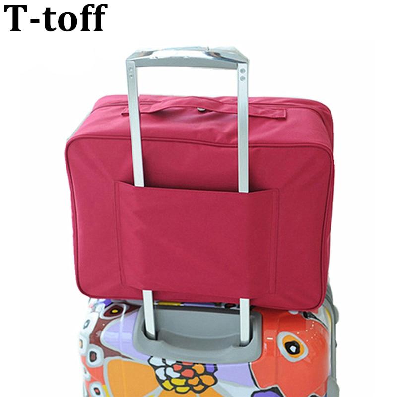 کیسه سفر 4 رنگ مد کیف جدید WaterProof Unisex کیف های مسافرتی زنان چمدان مسافرتی کیف های تاشو حمل رایگان