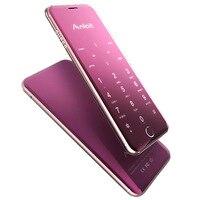 Original Anica A16 Mini Mobile Phone Ultrathin Luxury Phone MP3 Player Bluetooth 1 63inch Credit Card