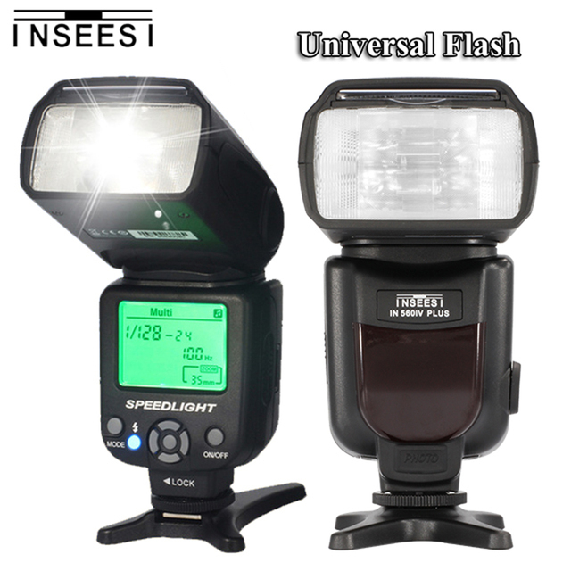 INSEESI IN560IV IN-560IV  IN 560IV Plus Wireless Universal Flash Speedlite M/S1/S2 Flash Mode for Canon Pentax Nikon D5200 D7200