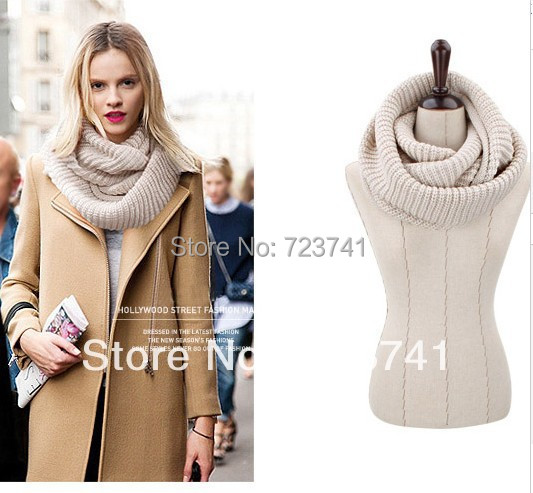Knitted Infinity Scarves For Women