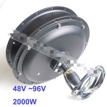 48V/60V/72V/96V 2000W hub motor for electric bike bicycle/ebike 26inch