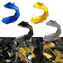 Gold Billet Aluminum CNC Front Chain Sprocket Cover For 2013-2015 Yamaha MT FZ 09