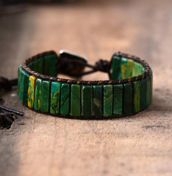 Leather Wrap Bracelet...
