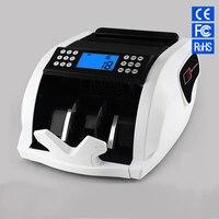 FT2050 счетчик денег Новый ЖК дисплей деньги счета счетчики поддельные детектор UV & MG кассовый банк 110 V 220 V ЕС США Счетная машина