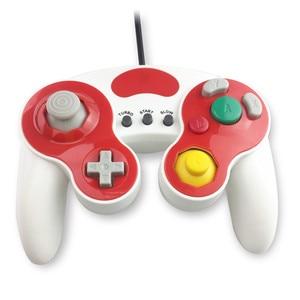 Image 2 - Wired Gamepad בקר עם שלושה כפתור עבור משחק קוביית N G C כף יד ג ויסטיק