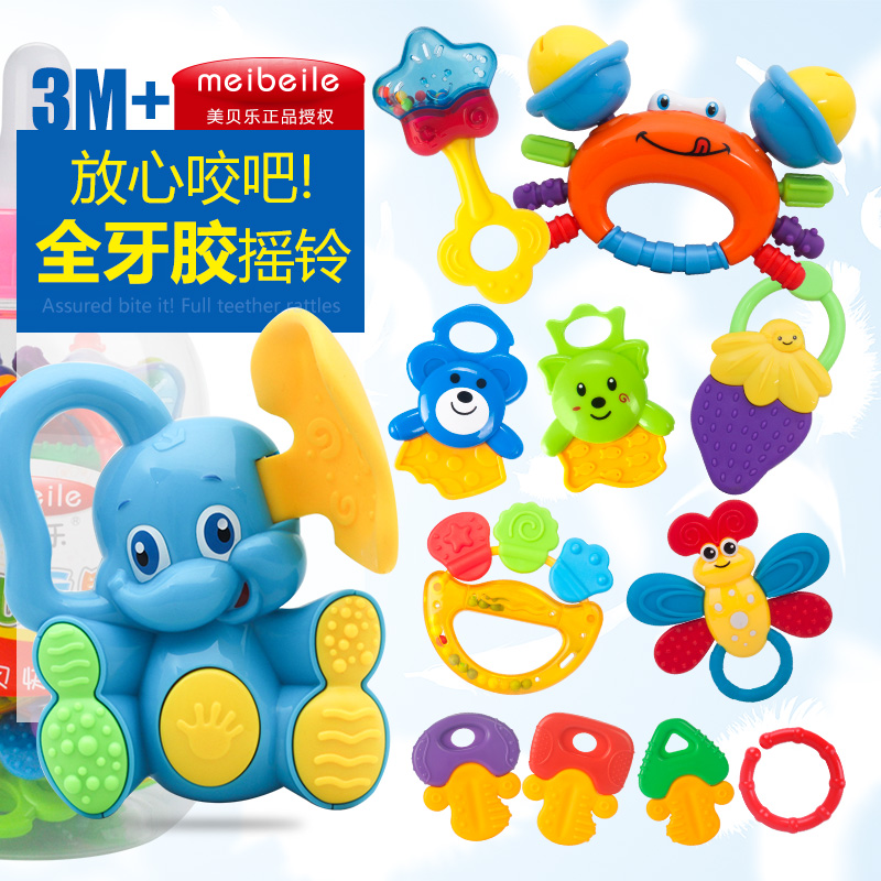 arrives cb3ed 50ff2 newborn baby educational toys teethers rattles set 3 6 12 months old - Christmas Gifts For 3 Month Old