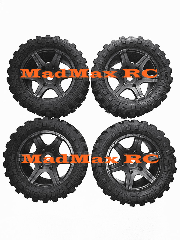 High Quality Reduce Weight Widen Waterproof Wheel Tire Rim Wheel Nuts For Xmaxx 1/5 TRAXXAS X-MAXX X MAXX 6s/8s RC CAR PARTS 4pcs tire to 1 5 traxxas x maxx wheels for traxxas x maxx rc monster truck model madmax high quality tyres upgrade rim
