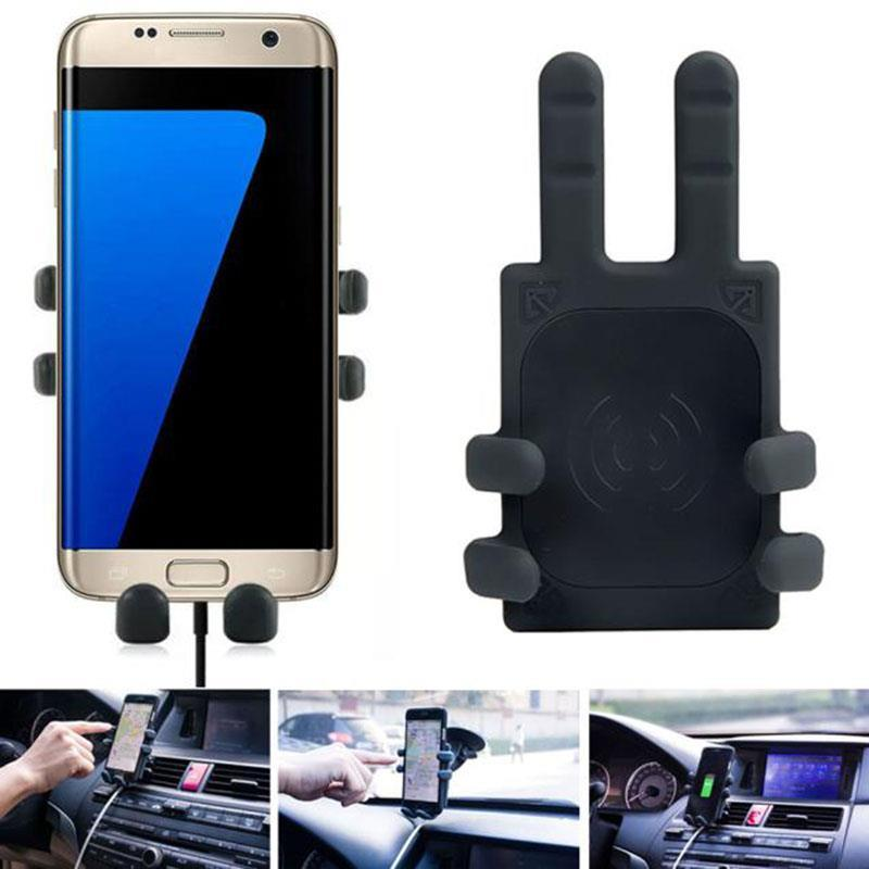 2018 Portable Universal Qi standard Wireless Charger Transmitter Holder for Samsung Galaxy S7/S7 Edge phone charger A232018 Portable Universal Qi standard Wireless Charger Transmitter Holder for Samsung Galaxy S7/S7 Edge phone charger A23