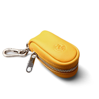 2016 Top Quality Luxury Leather Car Key Case Bag For Mercedes Benz Car Key Chain In