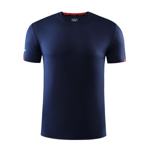 Image 4 - Mens T shirts Fashion Solid Color Short Sleeves Quick drying breathable Slim Fit Mens Summer t shirt