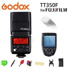 GODOX Mini TT350F Speedlite TTL HSS 2.4GHz 1/8000 s GN36 Flash Pocket lights TT350 + Xpro-F Trigger for Fujifilm fuji Cameras