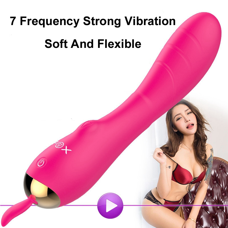 FOX USB Vibrator G Spot Clitoral Vibrators Sex Toys for Woman Waterproof Electric Shock Clitoris Stimulators Magic Wand massager powerful g spot clit vibrators for female rabbit clitoris vibrator usb clitoral stimulator vibrator sex toys products for woman