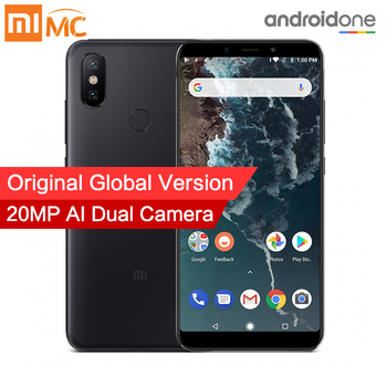 Global Version Xiaomi Mi A2 4GB 64GB Mobile Phone 20MP AI Dual Camera 5.99