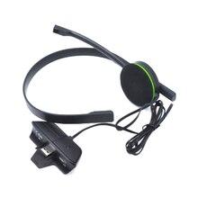 Wired Chat Conversando Headset Gamer Preto Substituição Fones de Ouvido Fone De Ouvido Com Microfone Para Microsoft Xbox One