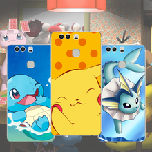 Pokemon Phone Case For Huawei p9 plus p9 p8 lite mate 9