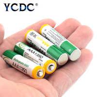 YCDC 1,2 v BTY 1350mAh Wiederaufladbare AAA Batterie HR03 LR03 ND61R R03 Ni-Mh Nickel Metall Hydrid 3A Fackeln Remote steuert Bateria