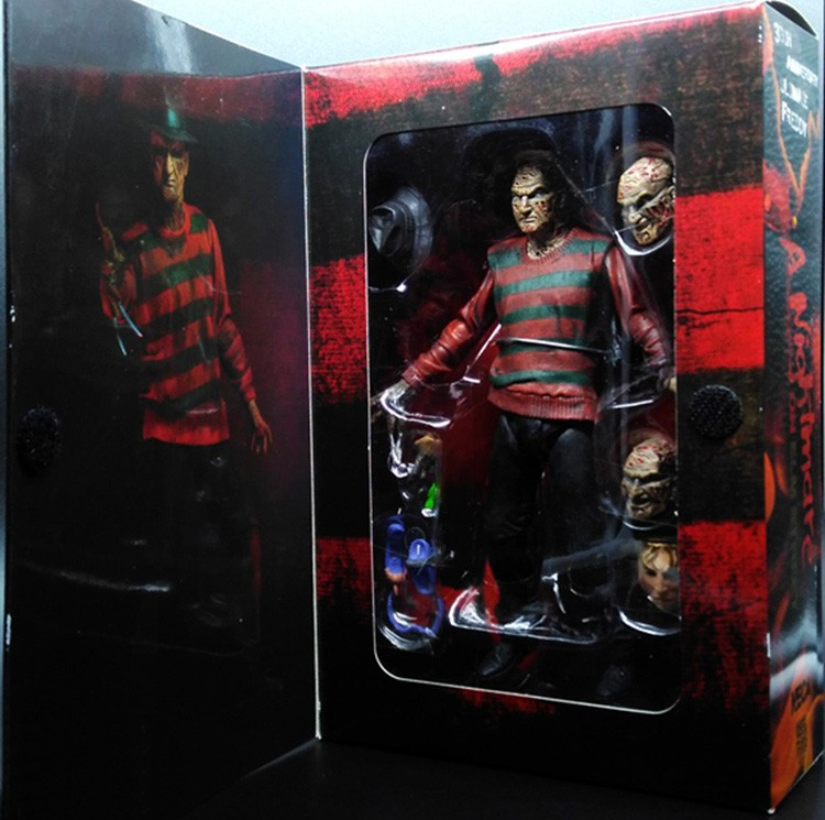 "NECA A Nightmare on Elm Street Freddy Krueger 30th PVC Action Figure Collectible Toy 7"" 18CM 1"