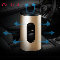 GIAHOL Air Purifier Ultra Quiet Portable Ozone Air Sterilizer USB Mini Stylish Super Energy Efficient with Light for Car home