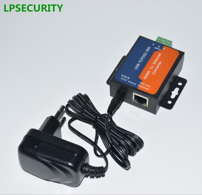 LPSECURITY USR-TCP232-304 Ethernet Converters Serial RS485 To TCP IP With DNS DHCP