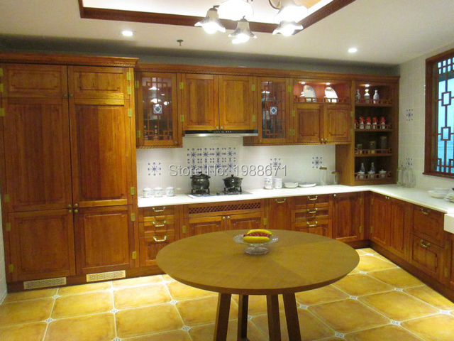 Kitchen Cabinets Vietnam Wood Kitchen Cabinets Made In China Antique
