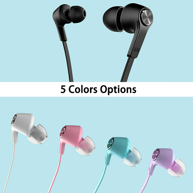 XIAOMI PISTON Colorful Version In-ear earphone earbuds for XIAOMI Redmi 5 5A 5 plus 4 4A 4X note4 4X for iphone samsung and more
