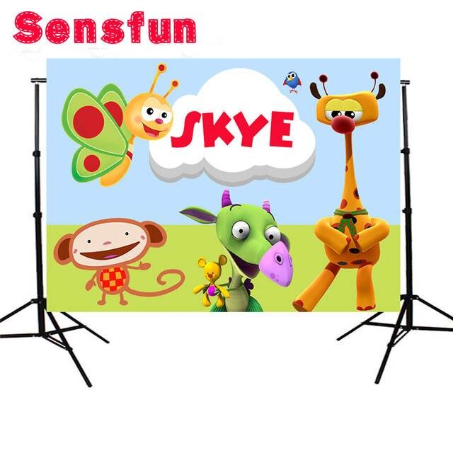 Sensfun The Best of Baby TV Children Baby Shower Custom Photo Studio  Backdrop Background Vinyl 220cm x 150cm