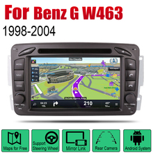 AutoRadio 2 Din Android Car DVD Player For Mercedes Benz G W463 1998~2004 NTG GPS Navigation Wifi Map Multimedia system Stereo