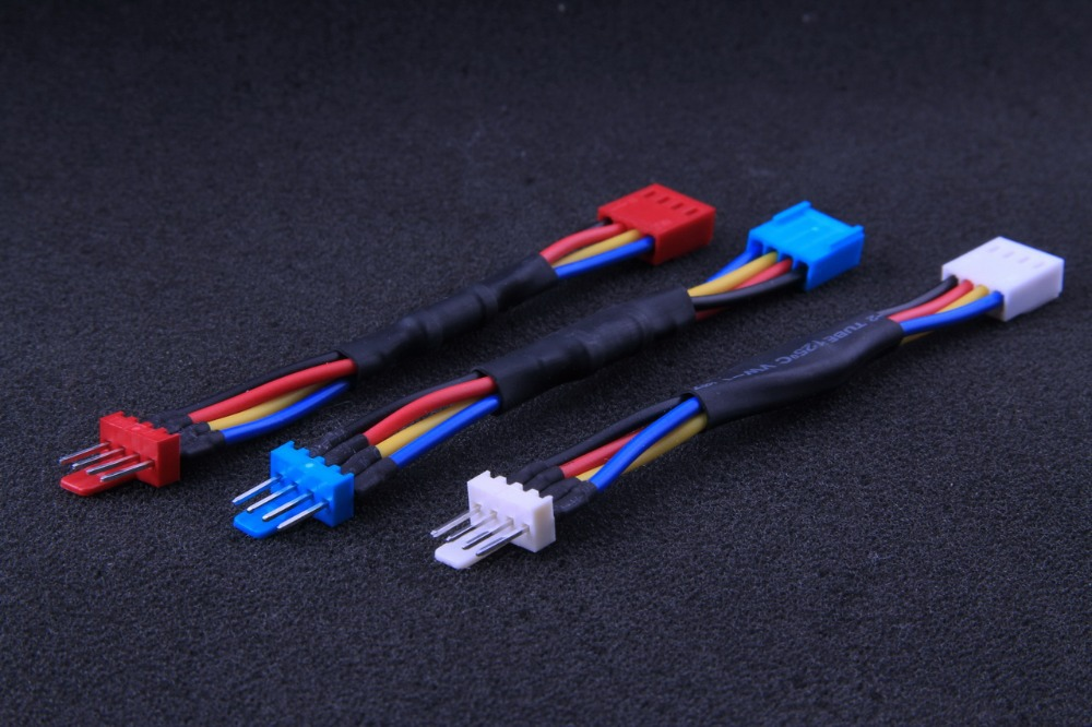 3pcs/lot PC 4Pin Cooling Fan HeatSink PWM Reducer Power Cable Speed Slow Down 30% - 50% RPM Line ...