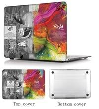 купить Laptop Shell+Keyboard Cover+Screen Film For 2018 Macbook Pro15 A1707/A1990 13Touch Bar A1706/A1989 Air 11 13 Pro Retina 12 13 15 по цене 1161.94 рублей