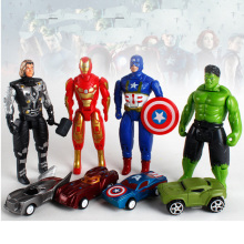Marvel Avengers 4 Infinity War Movie Anime Super Heros Captain America Ironman Spiderman Hulk Thor Superhero Action Figure Toy аксессуар стекло защитное luxcase 0 33mm for iphone 5 5s 5c 80282