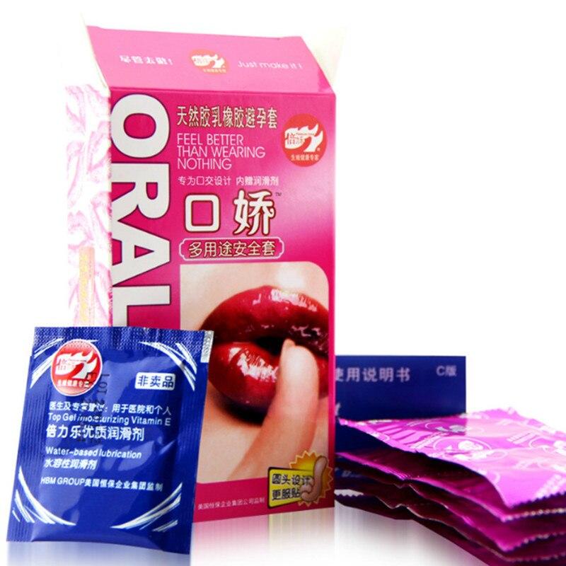 Ультратонкие кондомы для орального секса