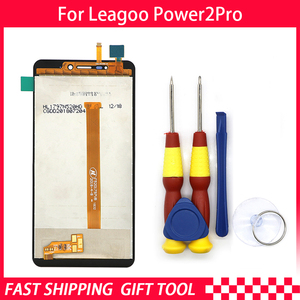 Image 1 - 100% Original Leagoo Power 2 pro LCD Display + Touch Screen Assembly ForLeagoo Power 2 pro+ Tools+3M Adhesive