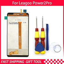 100% Original Leagoo Power 2 pro écran LCD + écran tactile assemblée ForLeagoo Power 2 pro + outils + 3m adhésif