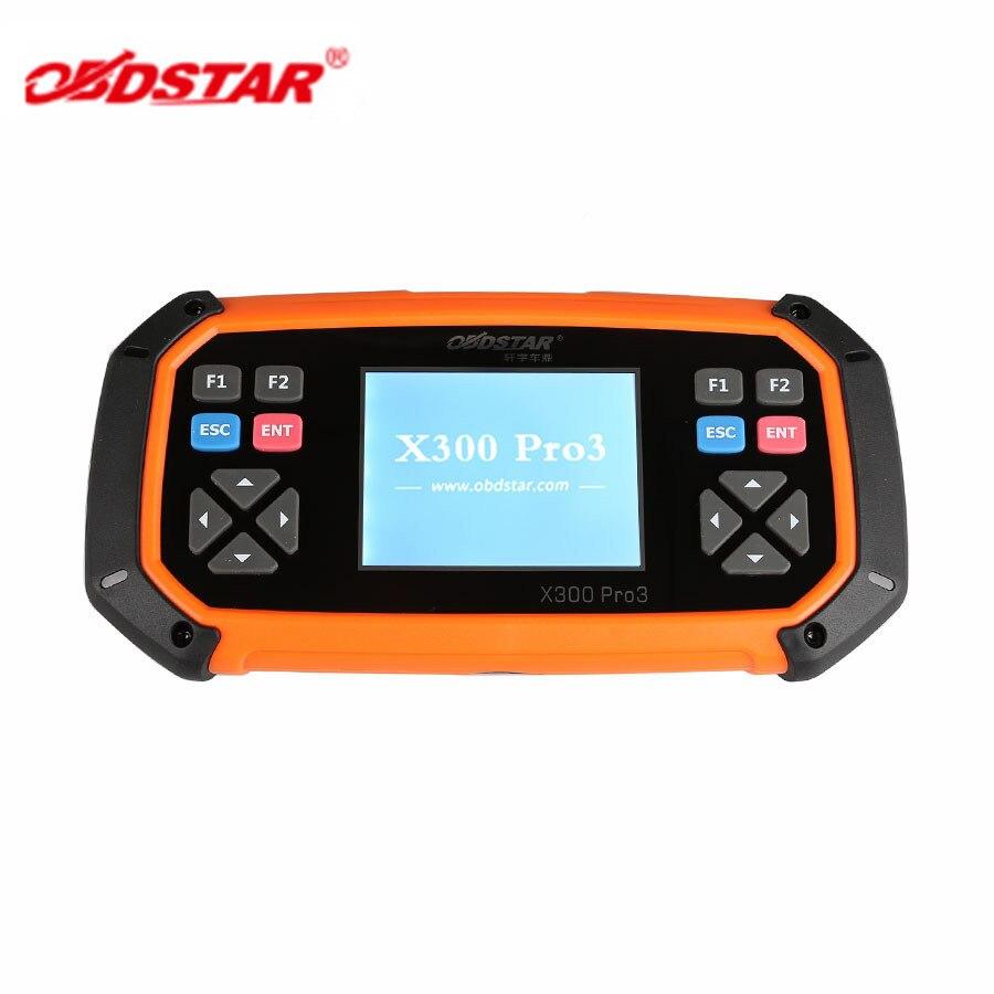 OBDSTAR X300 PRO3 Master Key avec Antidémarrage + Ajustement D'odomètre + EEPROM/PIC + OBDII + Pour Toyota G & H Puce Toutes Les Clés Perdues