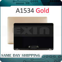 NEW!!! Gold Golden Color A1534 LCD Screen Display Assembly for Macbook Retina 12'' A1534 Top Full Assembly 2015 2016 2017 Year