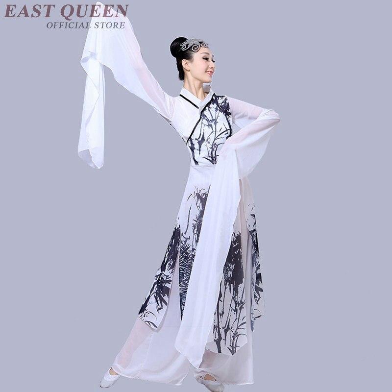 Danse folklorique chinoise femmes tang dynastie costume antique chine vêtements costumes de danse orientale costume KK2290 Y