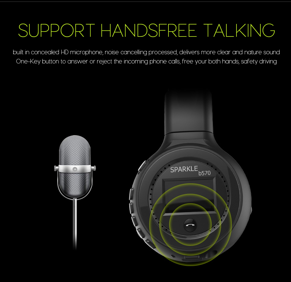 Image 5 - Bluetooth Wireless Headphones HiFi Stereo Headset With Microphone FM Radio Micro SD Card game Play  For iphone huawei samsung-in Bluetooth Earphones & Headphones from Consumer Electronics