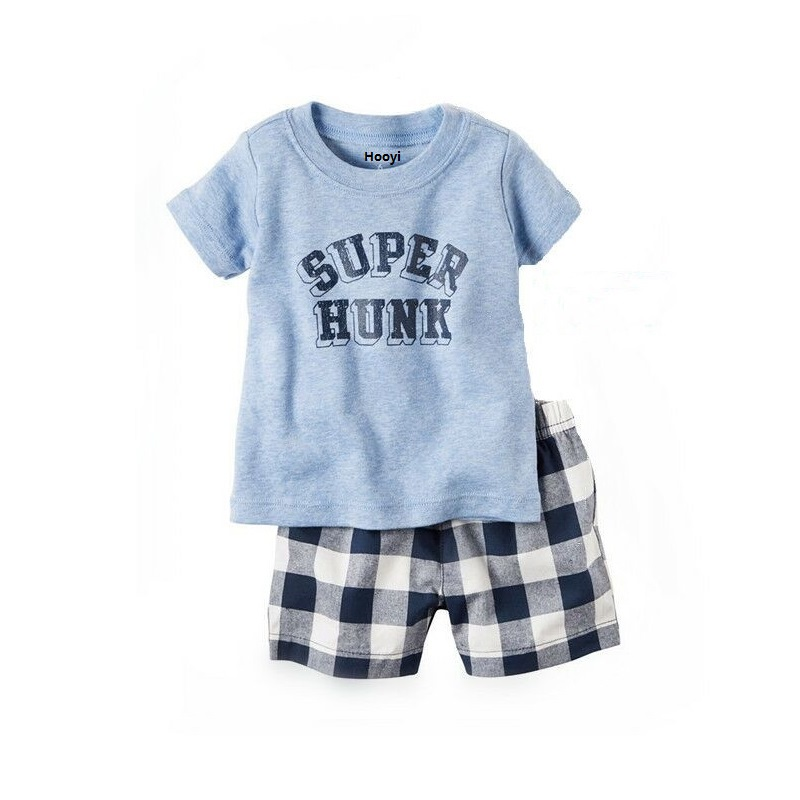 2PC Baby Girl Kids Toddler Blue Jeans Dress Clothes 6-9-12-18-24Months