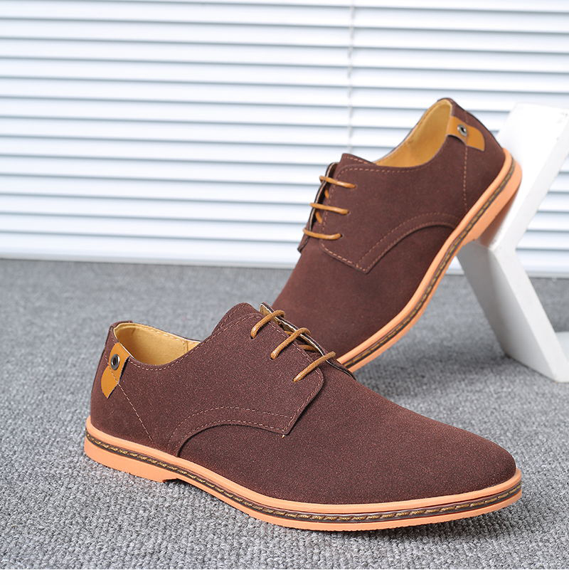 HTB1E8MHX81D3KVjSZFyq6zuFpXad VESONAL Brand 2019 Spring Suede Leather Men Shoes Oxford Casual Classic Sneakers For Male Comfortable Footwear Big Size 38-46