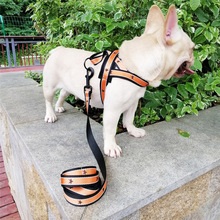 Dog Harness No-Pull Pet Adjustable Outdoor Vest Oxford Material for Dogs Easy Control Medium Large