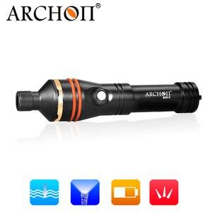 Image 4 - ARCHON D11V II W17V II d11v Tauchen Video Licht 1200 LM 100M Unterwasser Lichter * L2 U2 LED Taschenlampe Fotografie Dive taschenlampe