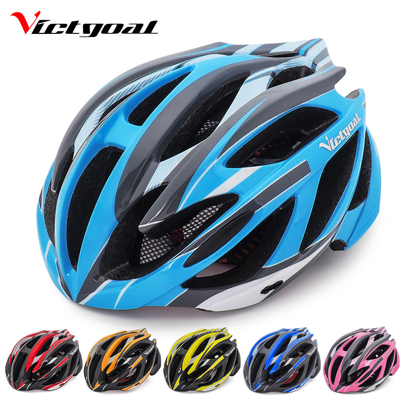 Ultralight Cycling Helmet with With Taillight Visor Road Mountain Bike OK