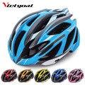 Шлем VICTGOAL для горного велосипеда  Сверхлегкий велосипедный шлем  задний фонарь для мужчин и женщин  солнцезащитный козырек  дышащий велосип...