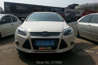 for Ford Focus LED Head lights with LED bar light 2012 2014 year V2 type