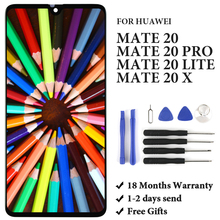 For Huawei Mate 20/ Mate 20 Lite LCD Touch Screen Assembly Replacement Spare Parts For Huawei Mate 20 Pro/ Mate 20 X LCD Display