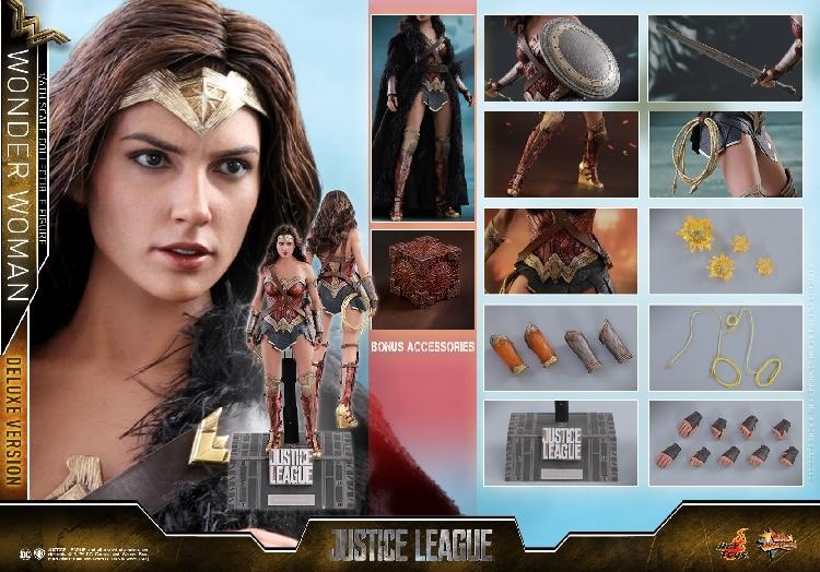 Merveille femme Batman v Superman aube de la Justice Justice ligue Gal Gadot Match corps uni 1/6 échelle figurines à collectionner