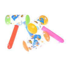Inflatable Hammer With Bell Air Hammer Baby Toy Kids Outdoor Funny Toys Party Favors Inflatable Toy Pool Beach Toy(China)